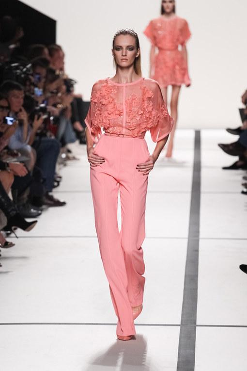 Elie Saab Parigi Fashion Week primavera estate 2014