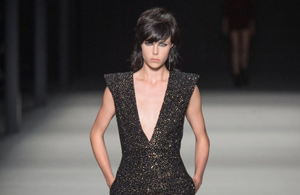 Saint Laurent Parigi Fashion Week primavera estate 2014