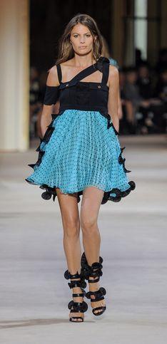 Emanuel Ungaro Parigi Fashion Week primavera estate 2014