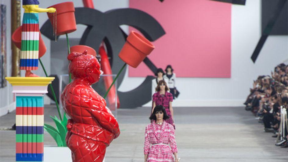 Chanel in Paris: Karl Lagerfeld mixt Mode mit Kunst!