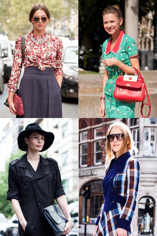 Lo street style visto alle sfilate di Milano, Londra e New York, autunno 2013