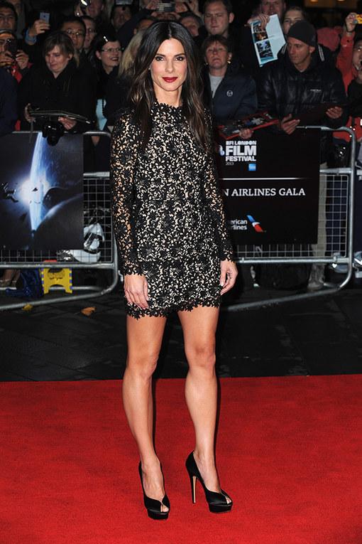 Sandra Bullock at the London Film Festival