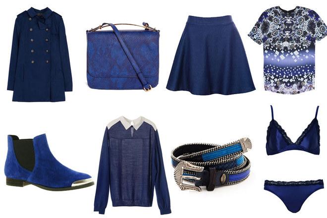 La tendenza dell'autunno inverno: il blu