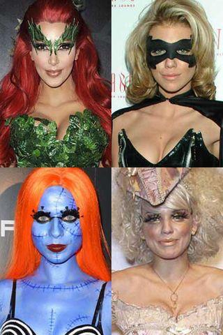 Halloween costumes: Celebrities get dressed up