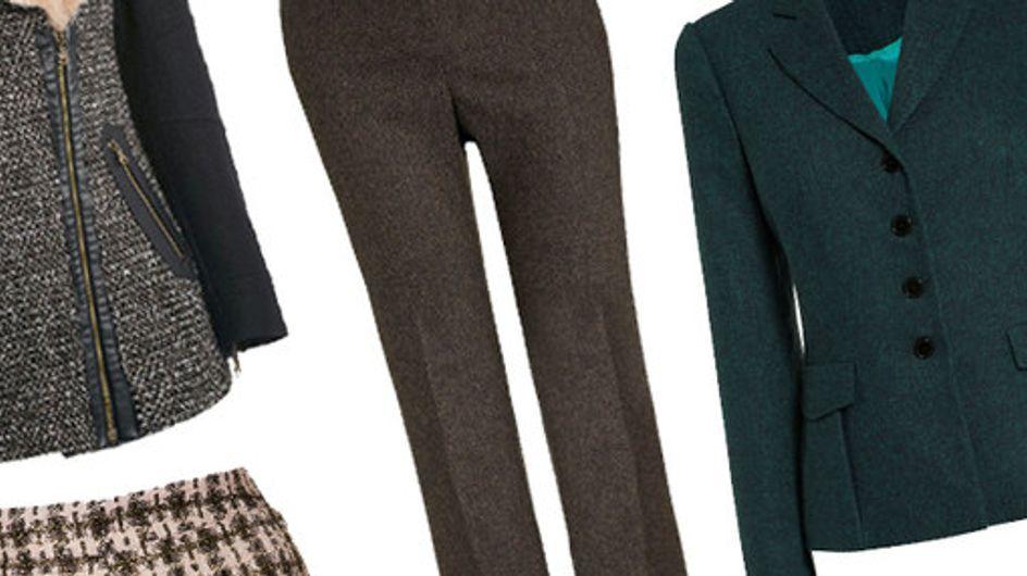30 tweed buys: Hot heritage fashion