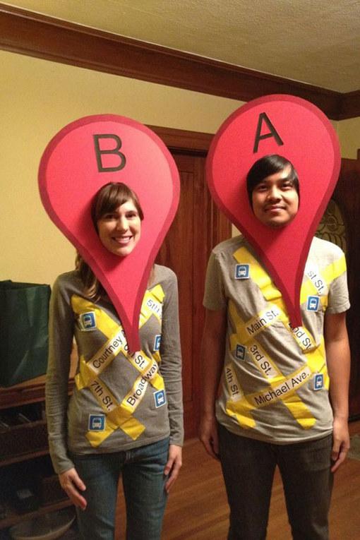 Kreative Kostüme für Paare