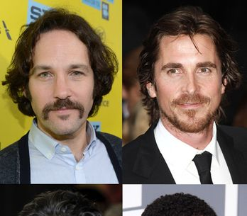 Movember - Men with moustaches