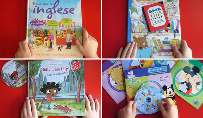 Dieci libri per insegnare inglese ai bambini