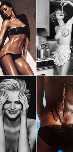 Erotik trifft Kunst: Legendäre Bilder aus 50 Jahren Pirelli Kalender