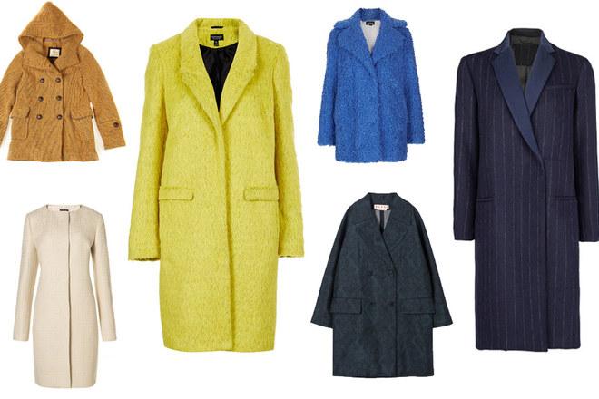 Un arcobaleno di cappotti per l'autunno inverno 2014