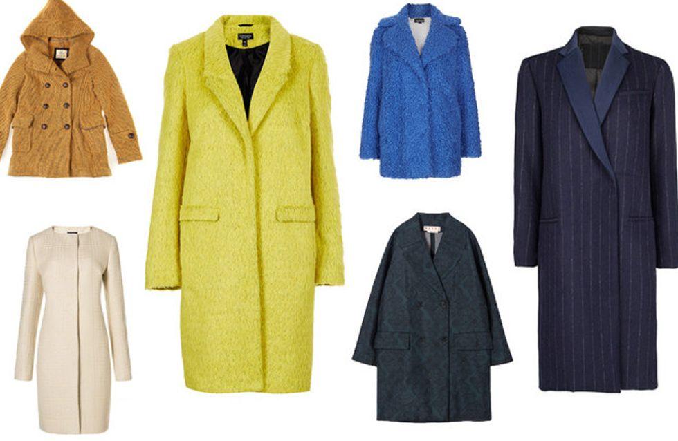 Color Mania: dal bianco al lime, tutti i cappotti per il 2014