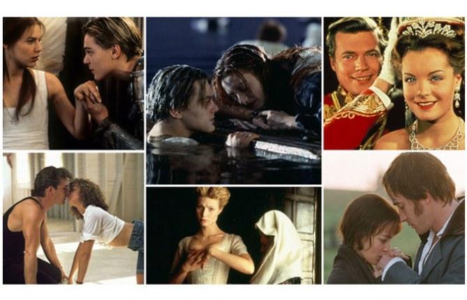 Die schönsten Film-Liebespaare aller Zeiten