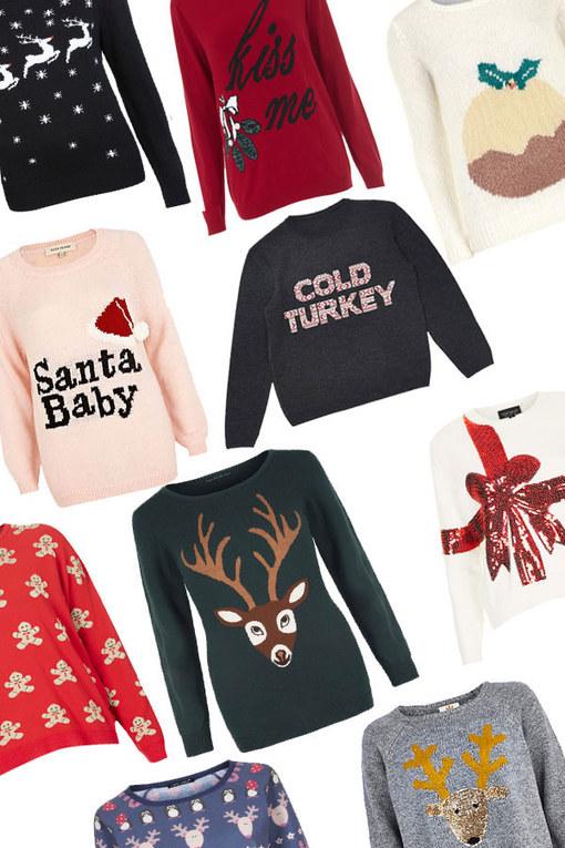 30 Christmas jumpers: Novelty festive knits