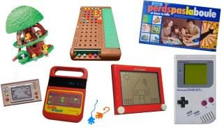 Élisez votre jouet-nostalgie préféré