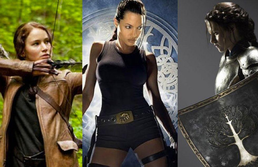 Le eroine del cinema. Le star che hanno interpretato le guerriere più coraggiose