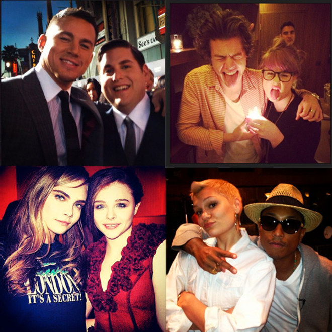 Celebridades: os melhores amigos famosos no Instagram