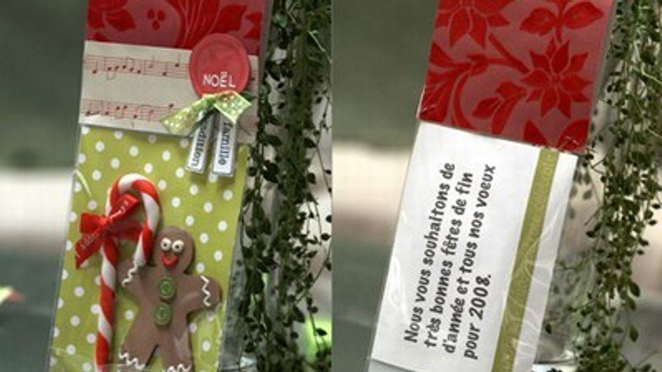 DIY : Une jolie carte de voeux pour les fêtes