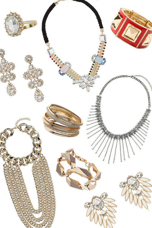 Show-stopper: Statement party jewellery for Christmas