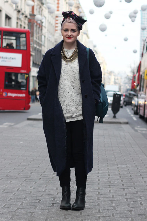 London Streetstyle Dezember 2013
