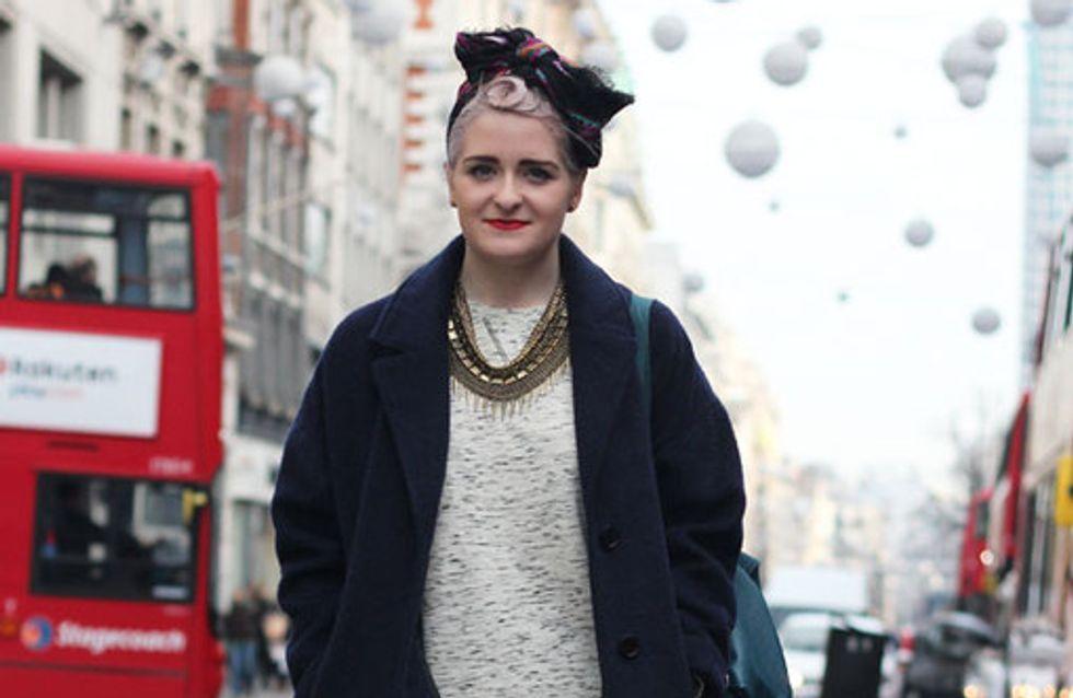 Streetstyle London: Ohne Mütze läuft jetzt nichts!