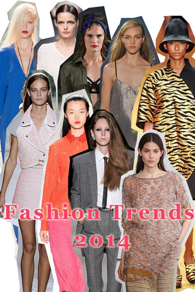 Fashion trends 2014: What to wear