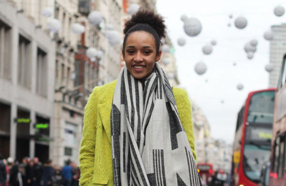 London Street Style December 2013
