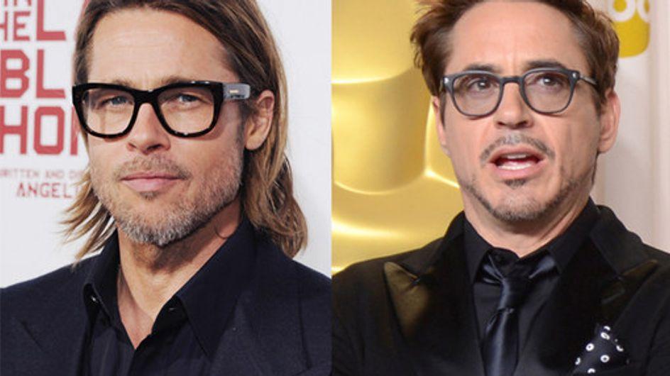 Celebrity Men Wearing Glasses