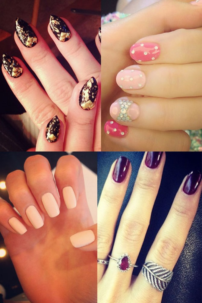 Celebrity nail art: Famous manicures