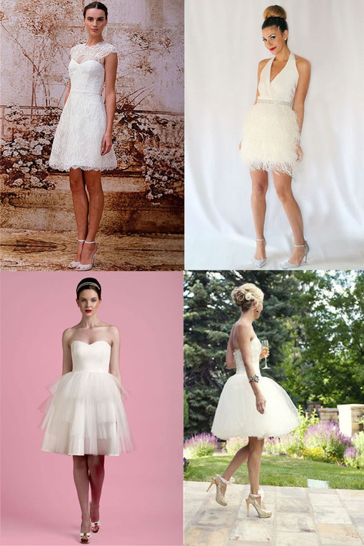 50 of the best short wedding dresses