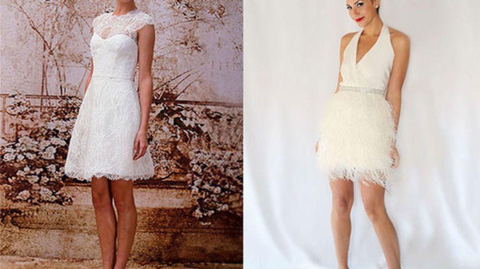 50 of the best short wedding dresses
