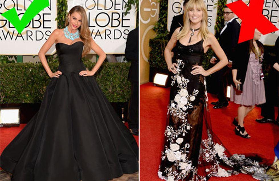 Golden Globes 2014: Die Fashion Tops & Flops des Abends