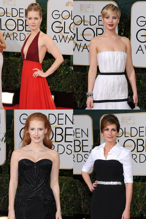 Red carpet Golden Globes 2014