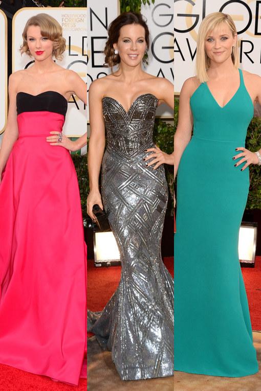 Golden Globes 2014: Red carpet fashion highlights