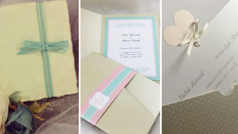 Wedding Design. Le partecipazioni più belle e originali per le tue nozze
