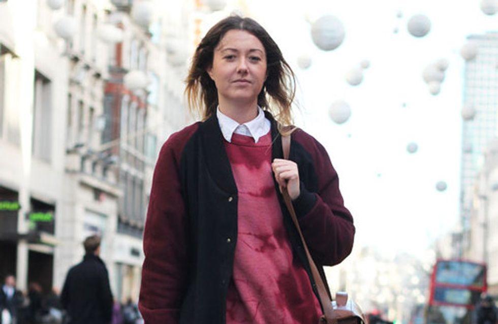 Kuschelmäntel & Sonnenbrillen: Hier kommen die Streetstyles aus London