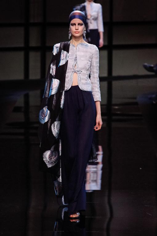 Défilé Giorgio Armani Privé Haute Couture Printemps-Eté 2014