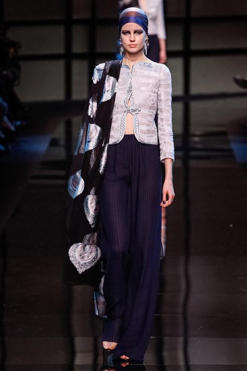 Giorgio Armani Privè Haute Couture primavera 2014