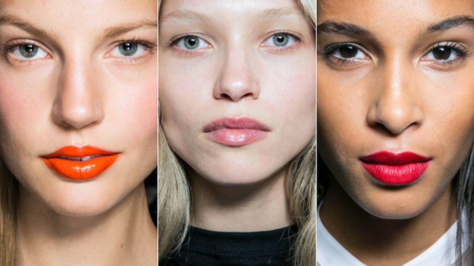 Rosso ciliegia, arancione e gloss effetto bagnato: i trend labbra P/E 2014