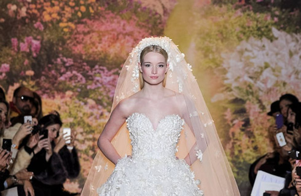 Für Luxus-Bräute: Die schönsten Haute Couture Brautkleider 2014