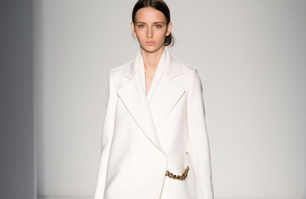 Victoria Beckham - New York Fashion Week Otoño Invierno 2014-2015