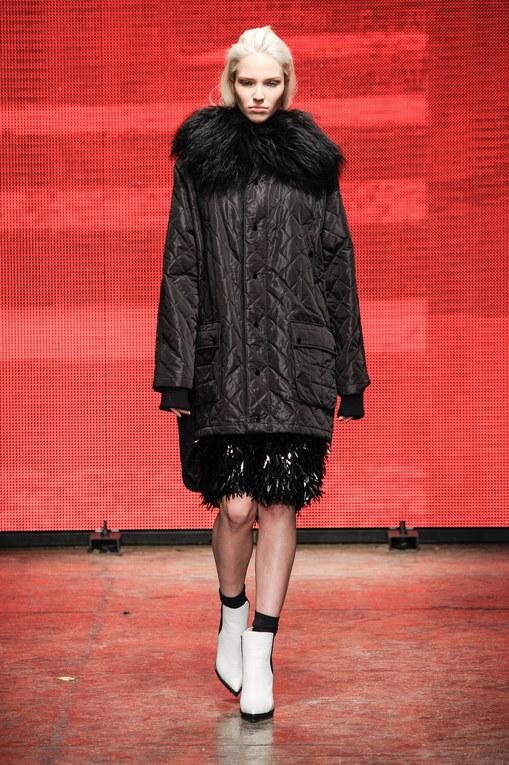 Modeshow DKNY Prêt-à-Porter Herfst-Winter 2014/2015