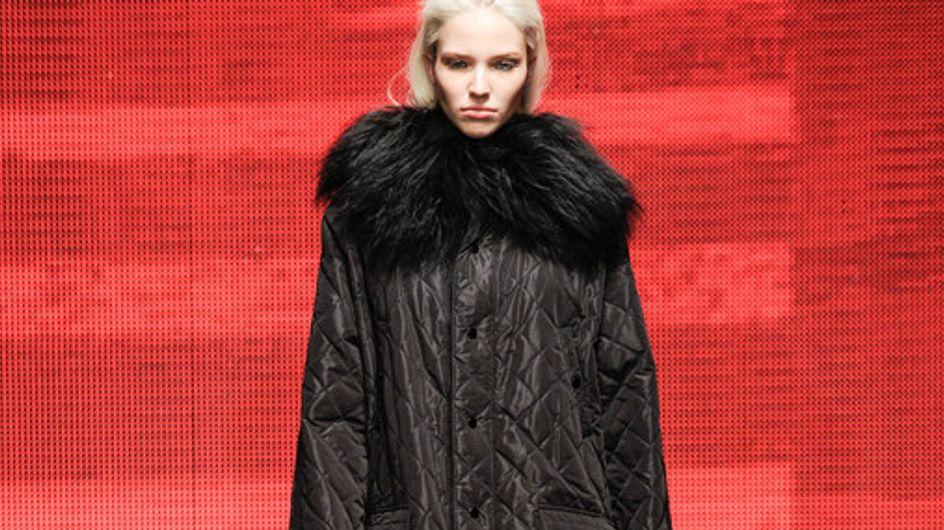 Modeshow DKNY New York Fashion Week H/W 2014/2015