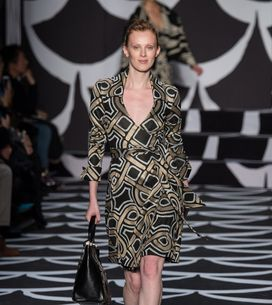 Modeshow Diane von Furstenberg New York Fashion Week H/W 2014-2015