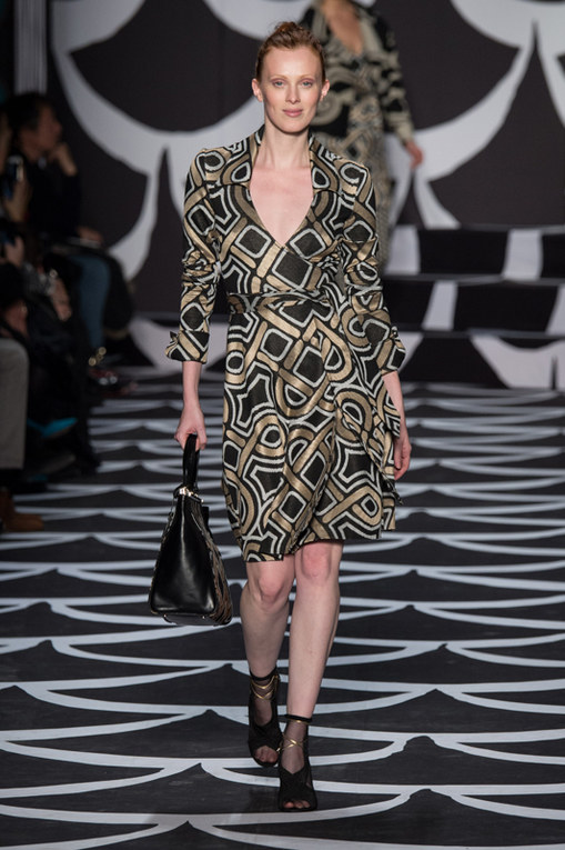 Diane Von Furstenberg New York Fashion Week autunno inverno 2014 2015