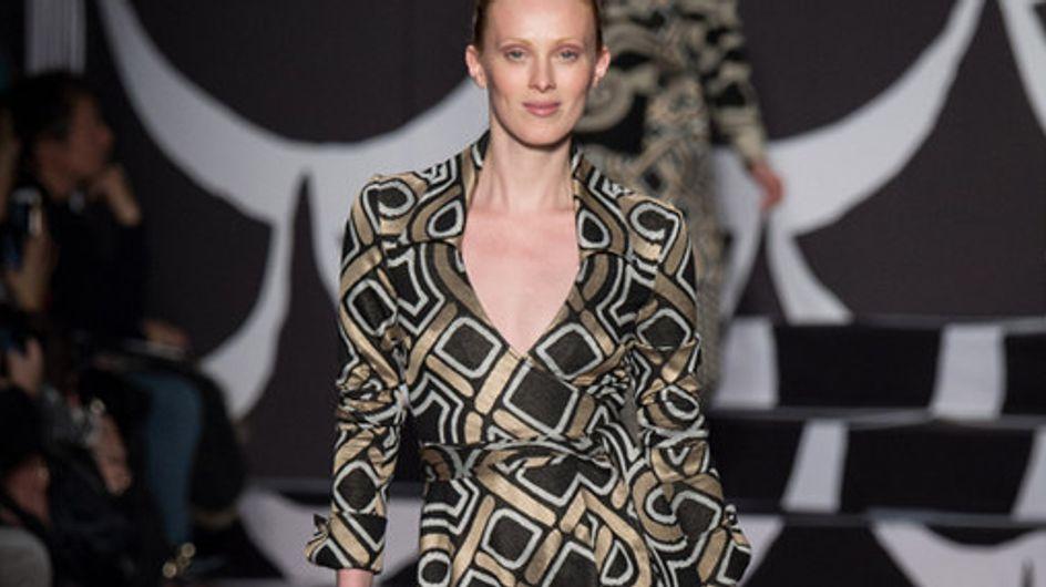 Diane Von Furstenberg New York Fashion Week autunno inverno 2014 2015
