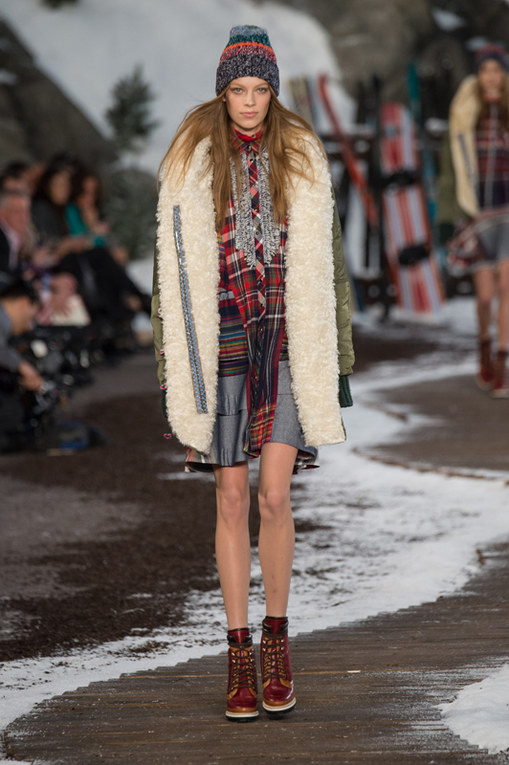 Tommy Hilfiger New York Fashion Week autunno inverno 2014 2015
