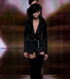 Modeshow Donna Karan New York Fashion Week H/W 2014-2015