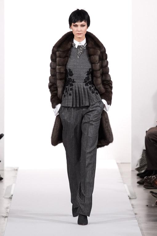 Oscar de la Renta New York Fashion Week autunno inverno 2014 2015