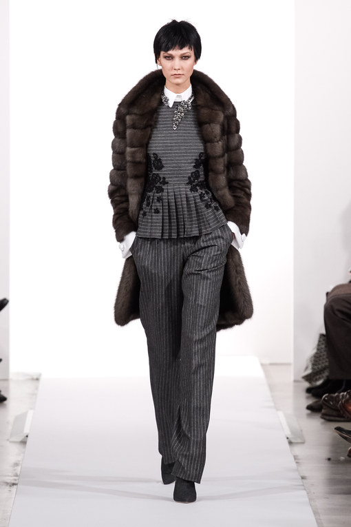 Modeshow Oscar de la Renta Prêt-à-Porter New York Herfst-Winter 2014-2015
