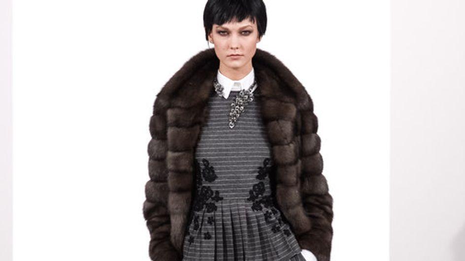 Modeshow Oscar de la Renta New York Fashion Week H/W 2014-2015